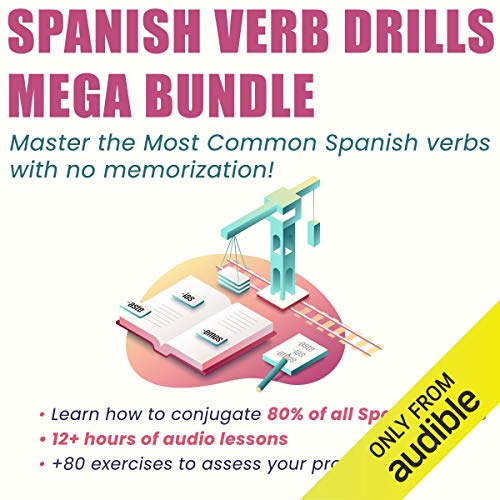 Spanish Verb Drills Mega Bundle  By  cover art