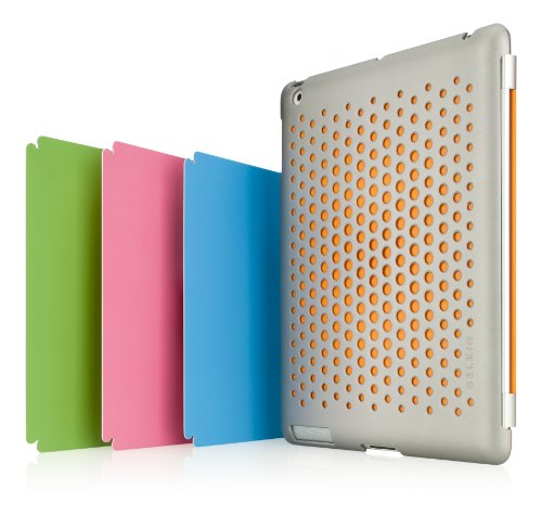 Belkin Emerge 024 Hülle (geeignet für Apple iPad2) silber