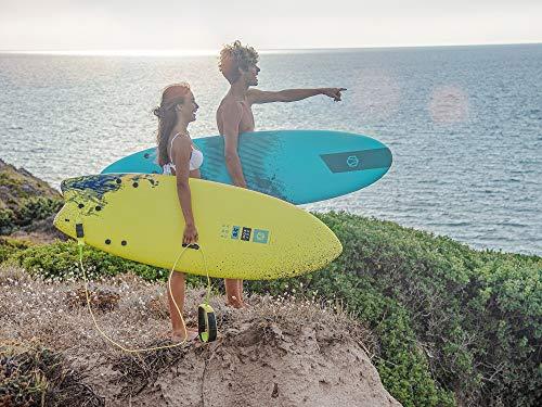 Aztron Tavola Surf softboard VOLANS 5'8' Tabla Soft Volantes, Amarillo
