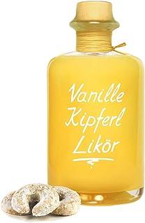 Vanille Kipferl Likör 0,5 L preisgekrönt nach Vanille & frischem Gebäck 17% Vol Sahnelikör