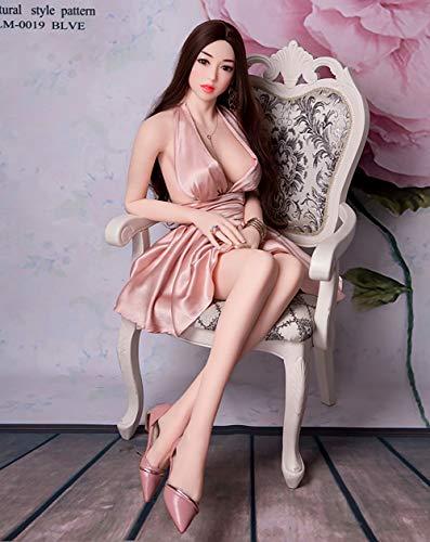 MNBGF Neue 165cm / 65 Sex aufblasbare Puppe, Liebespuppe männlich realistische Brust junges Mädchen jungfräuliche Frau Puppe Erwachsenen Sex liefert, Katze Masturbation