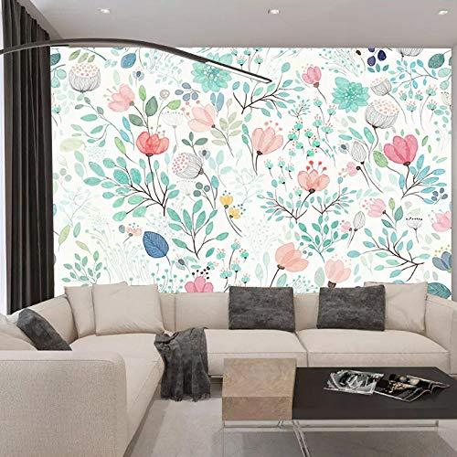 Tessuto TV sfondo camera da letto comodino sfondo stile rustico carta da parati floreale piccola TV tessuto personalizzato sfondo Carta Da Parati moderna 3D Fotomurali spiaggia-200cm×140cm