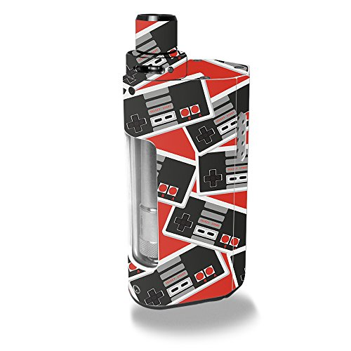 MightySkins Skin Compatible with Kanger CUPTI 2 – Retro Controllers 3   Protective, Durable, and Unique Vinyl Decal wrap Cover   Easy to Apply, Remove, and Change Styles   Made in The USA