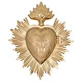 MILAGRO HEART -Milagro means miracle in Spanish. These religious folk charms can be hung on altars, around the neck of Santos dolls or statues. The heart opens to reveal a space to place a prayer, a wish, notes of gratitude or thanks. This sacred he...