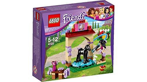 LEGO Friends Set Costruzioni La Stazione di Lavaggio del Puledro, Colore Vari, 41123