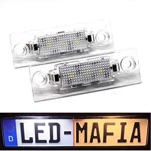 LED Kennzeichenbeleuchtung Module - E-Prüfzeichen - Plug & Play - 6000K 2h