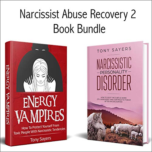 Narcissist Abuse Recovery: 2 Book Bundle audiobook cover art