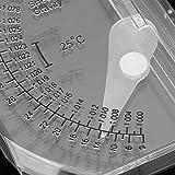 Dispositivo de medición de salinidad 20-30 ℃ Medidor de sal de agua de mar Medidor de salinidad...