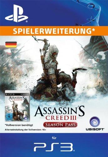 Assassin's Creed III Season Pass [Zusatzinhalt] [PSN Code für deutsches Konto]