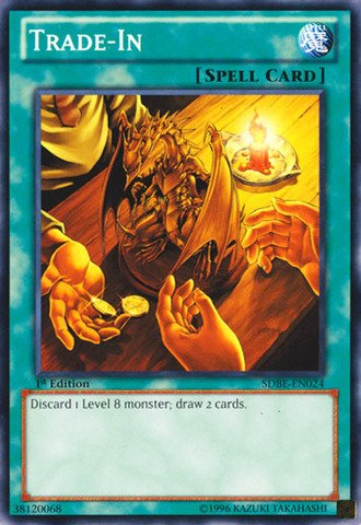 Yu-Gi-Oh! - Trade-In (SDBE-EN024) - Structure Deck: Saga of Blue-Eyes White Dragon - Unlimited Edition - Common by Yu-Gi-Oh!