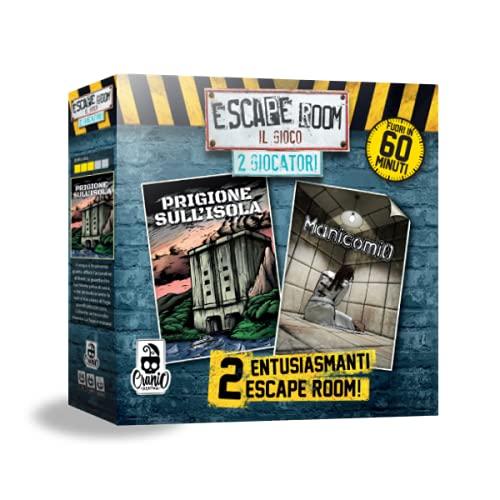 Escape Room 2 Giocatori Classica Cranio Creations CC272, Blu