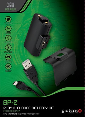 Gioteck BP-2 USB Play & Charge Battery Kit para Xbox One