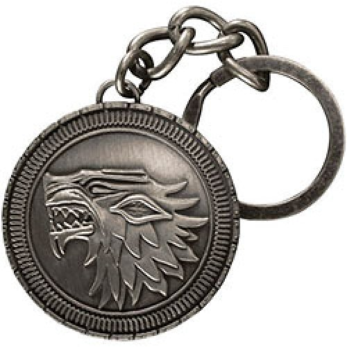 Game of Thrones Official Stark House Shield Metal Keychain La Collection Noble