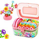 STEAM Toys That Girls Love: Girls don't love STEAM? Try us, they will bring you a wonder land of flowers. Safe for Toddlers: BPA FREE. Made of higher grade non-toxic plastic. Eco-friendly, smooth surface. Choose from hundreds, and tested by parents f...