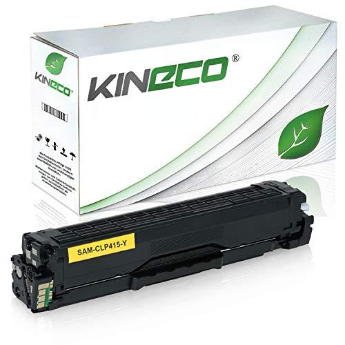 Toner kompatibel zu Samsung CLP-415 CLP415 für Samsung Xpress C1810W/SEE, Xpress C1860FW/XEC, CLP-415N/XEC, CLP-415NW/XEG - CLT-Y504S/ELS - Yellow 1.800 Seiten