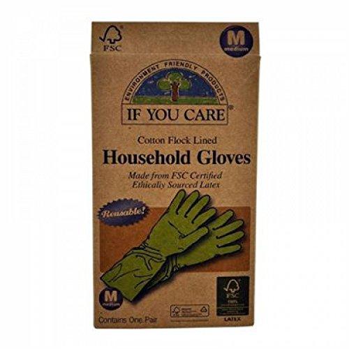 Preisvergleich Produktbild Wenn Sie Handschuhe,  mittel,  Haushalt,  1 Paar