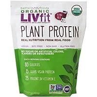 Betterbody Foods Organic LIVfit Plant Protein 360g 食品有機LIVフィット植物タンパク質 [並行輸入品]