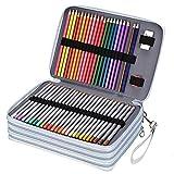 Custodia colorata per penne a colori, 200/168/120/72, con scomparti per penne a colori (non inclusi) (168 slot)