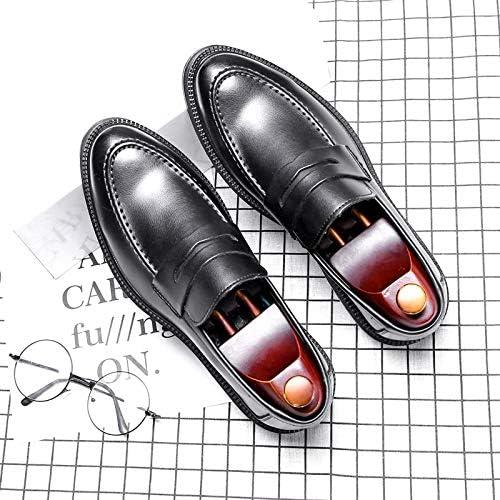 LOVDRAM Chaussures en Cuir pour Hommes Chaussures Tout-Aller pour pour pour Hommes Wild Tassel Hair Stylist A Souligné Les Petites Chaussures en Cuir Fashion One Foot Peas chaussures Fashion 92f