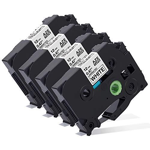 Markurlife Kompatibel Etikettenband als Ersatz für Brother TZe-231 TZ 231 12mm 0.47 Schriftband,Schwarz auf weiß für Beschriftungsgerät Brother P-Touch H105 PT-H100lb H105WB PT-1010 1000 D400vb D210