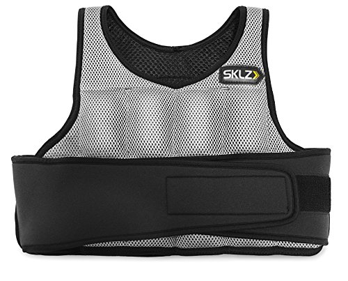 Breathable vest adjusts from 1 lb to 10 lbs in half pound increments Velcro belt adjusts to fit athletes of most sizes Soft weights allow the vest to bend and flex with your movements Perfect for: Track and Field, Basketball, Soccer, Football, Baseba...