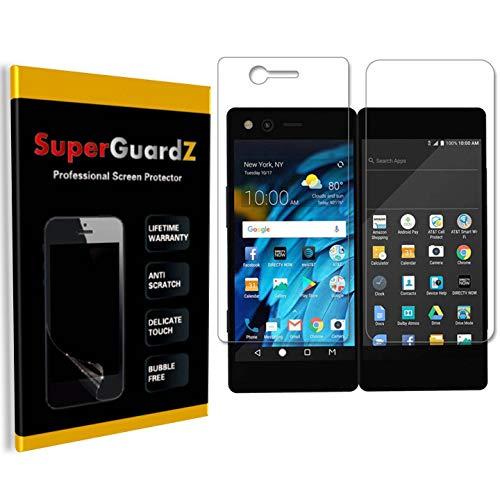 [8-Pack] for ZTE Axon M Screen Protector, SuperGuardZ, Anti-Glare, Matte, Anti-Fingerprint, Anti-Scratch, Anti-Bubble [Lifetime Replacement]
