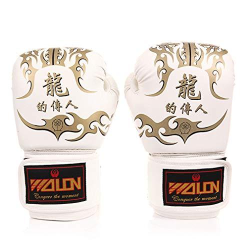 RUIXFLR Competencia de Guantes de Boxeo, Sanda Boxing Gloves Dragon Mould Gloves
