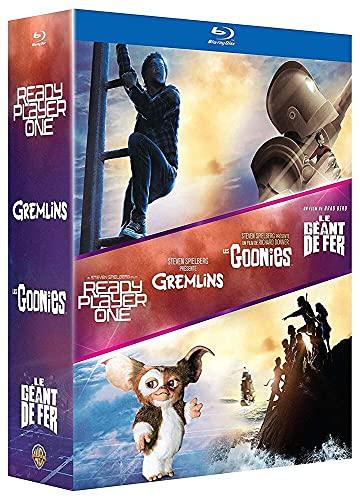 Ready Player One : Coffret 4 Films Pop Culture Inclus les Goonies, le Géant de Fer, Gremlins et Ready Player One - BluRay [Blu-ray]