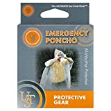 Ultimate Survival Technologies Emergency Poncho Clear Ultralight Jacket (4-Pack)