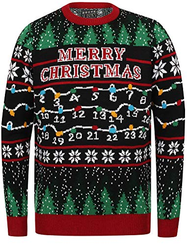 Seasons Greetings - Jersey de Navidad para hombre
