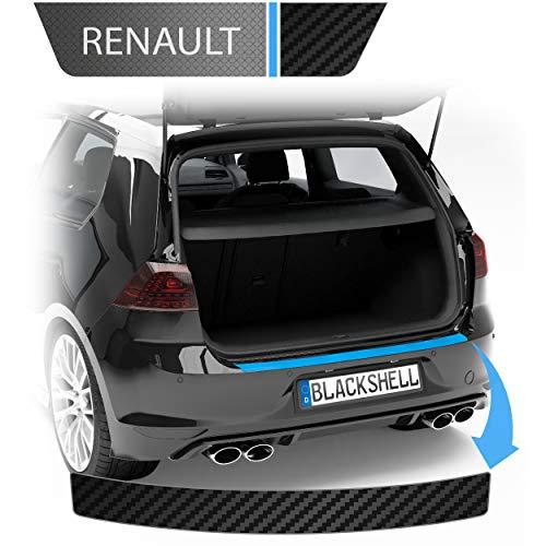 Blackshell® Ladekantenschutz Folie passend für VW Golf 7 Variant | Typ AU | Bj. 2012-2019 Carbon Matt - passgenauer Ladekantenschutz inkl. Set für Folierung