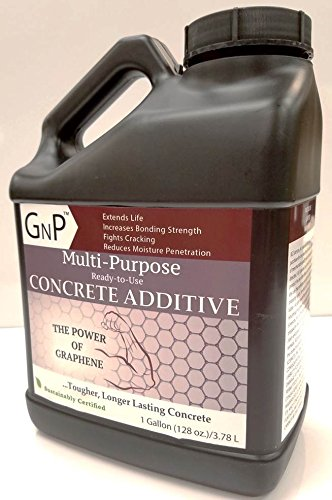 GNP Concrete Admix Additive Multi-Purpose Graphene XG Sciences Ready-to-Use 1 Gallon