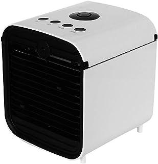 3 en 1 USB portátil Mini acondicionador de aire, aire acondicionado - Mini refrigerador de aire - Personal de enfriamiento Fan-humidificador, purificador (blanco)