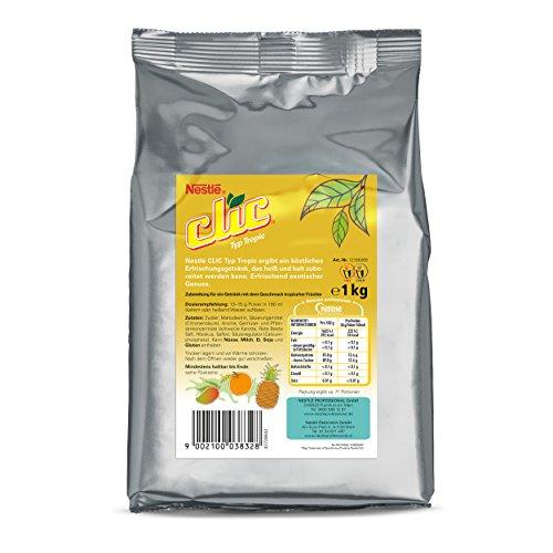 Nestlé CLIC Typ Tropic Füllprodukt Getränke Automaten Fruchtgetränk Teegetränk Tee Geschmack tropische Früchte , 1000 g