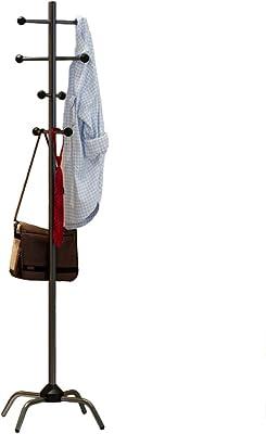 多目的 金属 出入り口 コートハンガー スタンド, フリースタンディング ツリー スタンド ホール ツリー, さびない オフィス ホーム 安定性 三脚の脚-D 41x177.4cm(16x70inch)