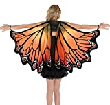 AMSCAN Monarch Butterfly Wings Halloween Costume Accessories for Adults, One Size