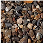 Carib Sea ACS00865 50-Pound Blue Ridge Gravel for Aquarium, 1/4-Inch