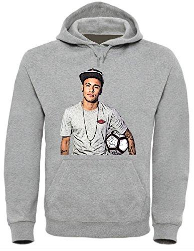 Neymar Funny Mens & Ladies / Herren & Damen Unisex Hooded Pullover (S