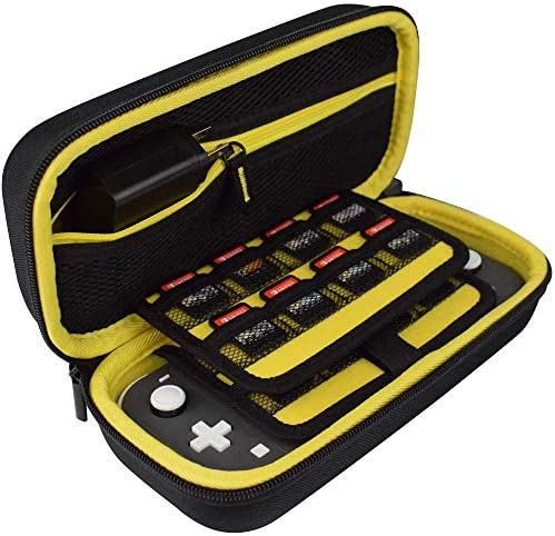 TAKECASE Hard Shell Carrying Case Compatible with Nintendo Switch Lite Fits Extra Controllers product image