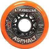 Labeda Ruedas en línea para hockey asfalto al aire libre naranja 80mm 85A x1