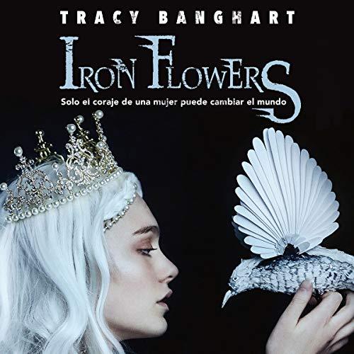 Diseño de la portada del título Iron flowers (Spanish Edition)