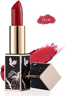 CATKIN Rouge Matte Lipstick, Waterproof Long Lasting Satin Moisturizing Smooth Soft 0.13 Ounce-Chinese Style-CR130