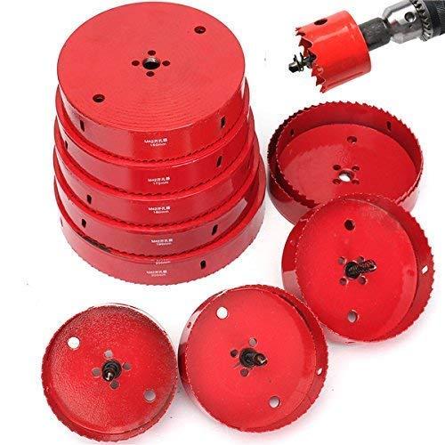 Terrarum 110-200mm M42 HSS Gatzaag Boor Bit Bi Metalen Tip Boor Voor Aluminium IJzer Hout - 180mm,190mm