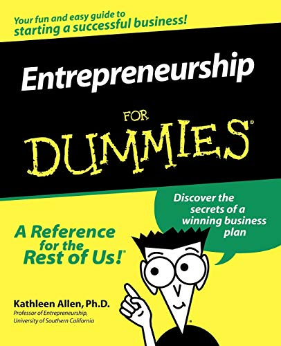 Compare Textbook Prices for Entrepreneurship For Dummies 1 Edition ISBN 0785555030633 by Allen, Kathleen