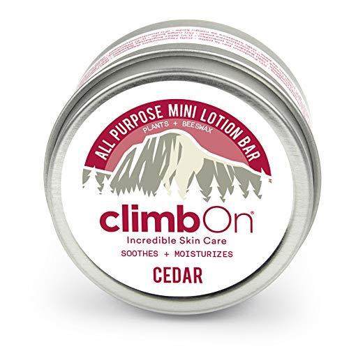ClimbOn Mini Cedar Lotion Bar Weiß, Hautpflege, Größe 14 g - Farbe White