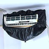 YuKeShop Cubierta de limpieza para aire acondicionado, bolsa de limpieza para montaje en pared, impermeable, a prueba de polvo, funda de limpieza para aire acondicionado