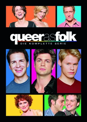 Queer as Folk - Die komplette Serie (+ Bonusdisc) [24 DVDs] (exklusiv bei Amazon.de)