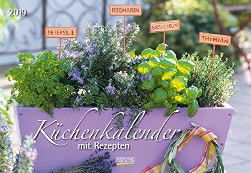 Küchenkalender (BK) 231419 2019: Broschürenkalender mit 12 genialen Rezepten. Format 42 x 29 cm inklusive Ferienterminen.