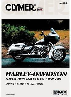 Clymer Repair Manuals for Harley-Davidson Road King Custom FLHRS/I 2004-2005