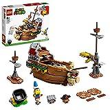LEGO 71391 Super Mario Set de Expansión: Fortaleza Aérea de Bowser, Juguete de Construcción Coleccionable para Niños con Figuras